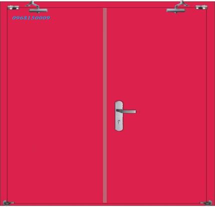 Cửa chống cháy bằng thép: Giải pháp tin cậy cho thiết kế công trình